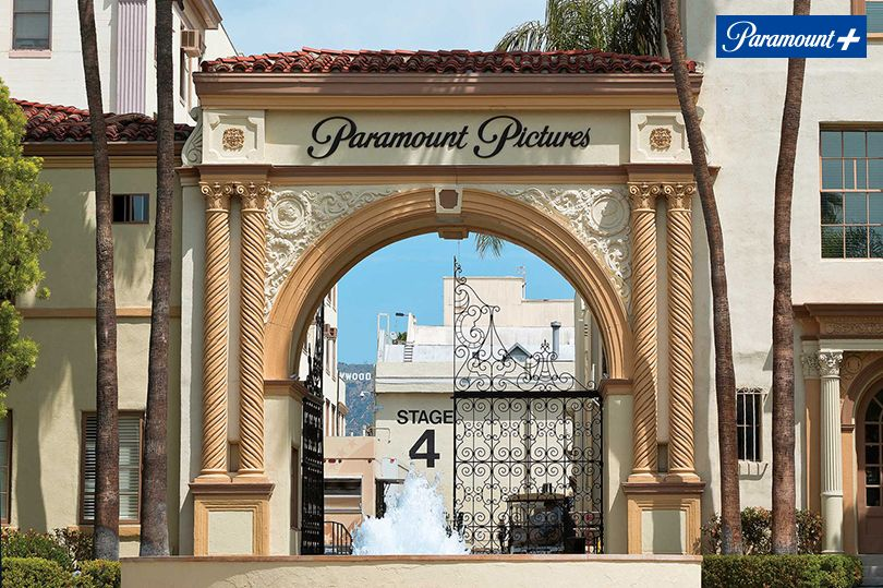 Paramount-Pictures studio gate Los Angeles Hollywood