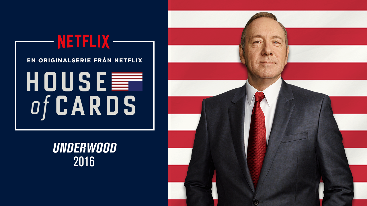 House of cards - en originalserie från Netflix