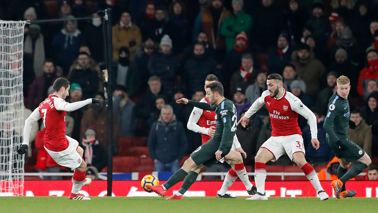 Premier League Arsenal Manchester City Foto: Frank Augstein - APTT